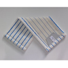 Mikromop, füles, fehér-kék, 50 cm