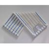 Mikromop, zsebes, fehér-kék, 50 cm