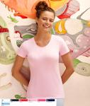 Lady- fit Crew Neck T 61-378