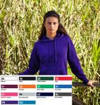 Lady- fit Lightweight Hooded Sweat 62-148