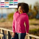 Lady- fit Lightweight Hooded Sweat Jacket 62-150
