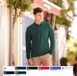 Premium Long Sleeve Polo galléros, hosszú ujjú 63-310
