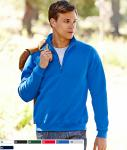 Premium Zip Neck Sweat 62-032