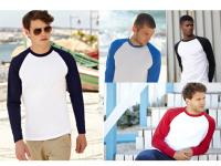 Valueweight Long Sleeve Baseball T 61-028