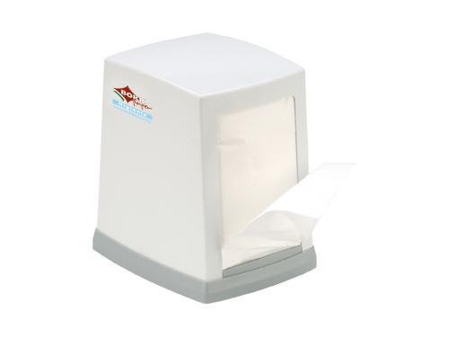 Bokk BAR & ICE CREAM szalvéta adagoló ABS, metál színű, 200 lapos