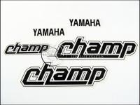 YAMAHA 54V CHAMP MATRICA KLT. CHAMP /FEKETE/ 821055-M -HUN