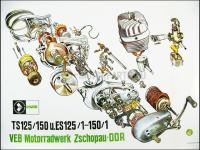 MZ/TS 150 SZERELÉSI ÁBRA MZ150 650018 -DEU
