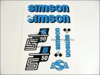 SIMSON 50 MATRICA KLT. S50B KÉK 821279 -HUN