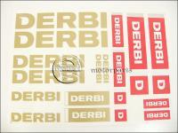 DERBI UNIVERZÁLIS MATRICA KLT. DERBI /ARANY/ 82127/A -HUN