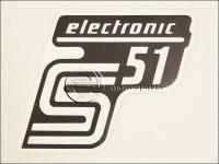 SIMSON UNIVERZÁLIS MATRICA DEKNIRE S51 ELEKTRONIC /FEHÉR MATT/ 8211694