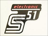 SIMSON UNIVERZÁLIS MATRICA DEKNIRE S51 ELEKTRONIC /PIROS MATT/ 8211696 -HUN