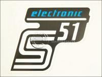 SIMSON UNIVERZÁLIS MATRICA DEKNIRE S51 ELEKTRONIC /KÉK MATT/ 8211698-M -HUN