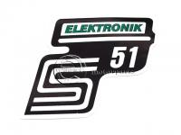 SIMSON UNIVERZÁLIS MATRICA DEKNIRE S51 ELEKTRONIC /ZÖLD/ 8211699 -HUN