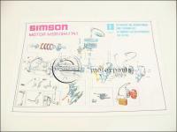 SIMSON 51 SZERELÉSI ÁBRA S51 AL30051 -DEU