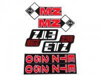 ETZ 250 MATRICA KLT. A/4 821262 HUN
