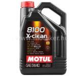 Motul MOTUL 8100 X-clean C3 5W40 5L Gk. Motorolaj . FRA