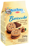 Mulino Bianco Baiocchi mogyorókrémes keksz