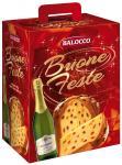 Balocco Buone Feste panettone 750g  pezsgővel
