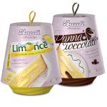 Bauli pandoro Limonce likőrös vagy tejszínes-csokis 750g