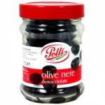 Polli fekete oliva üvegben 135g