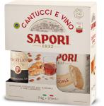 Sapori cantuccini szett Vin santo borral