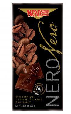 Novi különleges étcsokoládék magas csokoládétartalommal 75g