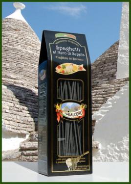 Spagetti tintahallal díszdobozban 250g