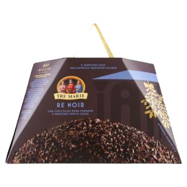 Tre Marie Re Noir csokoládés panettone 900g