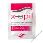 X-EPIL Olajos törlőkendő gyantázás után XE9230