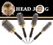 Head Jog  Gold/arany kerámiás ionos körkefe szett.