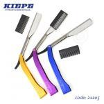 Kiepe fodrász borotva színes markolattal 128 (több színben)