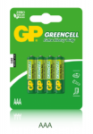 1,5V  AAA mikro féltartós GP elem 4-es csomagban