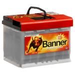 Banner Power Bull Professional 12V 63Ah 600A jobb pozitívos autóakku