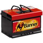 Banner Power Bull 12V 74Ah 680A jobb pozitívos autóakku