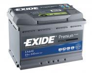 Exide Premium 12V/64Ah/640A autóakkumulátor