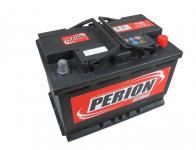 Perion 12V 74Ah 680A, jobb pozitívos autóakku