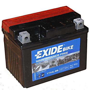 Exide 12V 3Ah YTX4L-BS motorakku