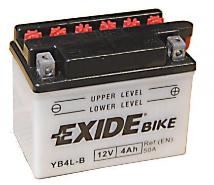 Exide 12V 4Ah YB4L-B motorakku