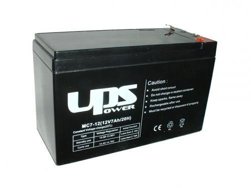 UPS Power 12V 7,0Ah ólom-zselés akku