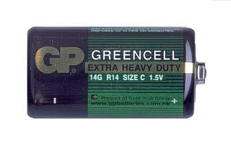 1,5V C baby féltartós GP elem