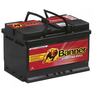 Banner Starting Bull 12V 72Ah 650A jobb pozitívos autóakku