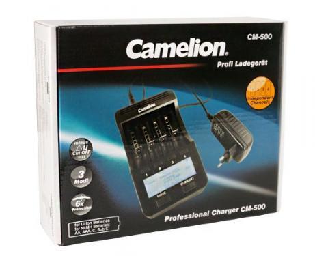 Camelion CM-500 Ni-MH/Li-ion akkutöltő