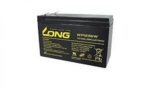 Long WP1236W 12V 9Ah ciklikus ólom-zselés akku