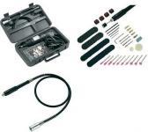 Mini fúrógép, gravírozó, csiszoló készlet, 80 részes