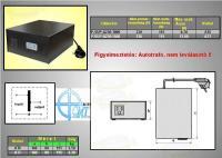 Feszültség konverter 230 V->110 V 1500 W