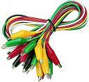 Krokodil csipeszes kábel szett     VCC 210-442