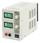 Labortápegység DC 0-15 V, DC 0-2 A,<br>2 db LCD műszer, RNG 1620BL