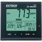 Széndioxid- levegőminőség, hőmérséklet és páratartalom mérőműszer