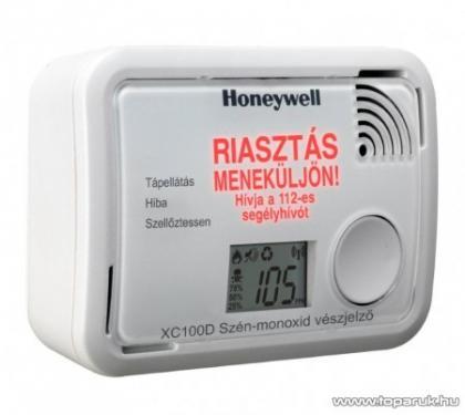 Honeywell Szén-monoxid érzékelő LCD kijelzővel