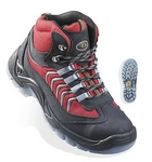 ACTINOTE (S1P) piros/fekete LEP37-es sport bakancs